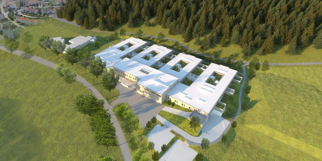 Skanska builds new psychiatric hospital in Kristiansand.