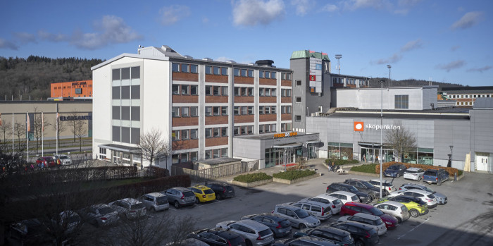 The property Spindeln 12 in Borås.