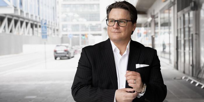 Mattias Lundgren, CEO of SSM.