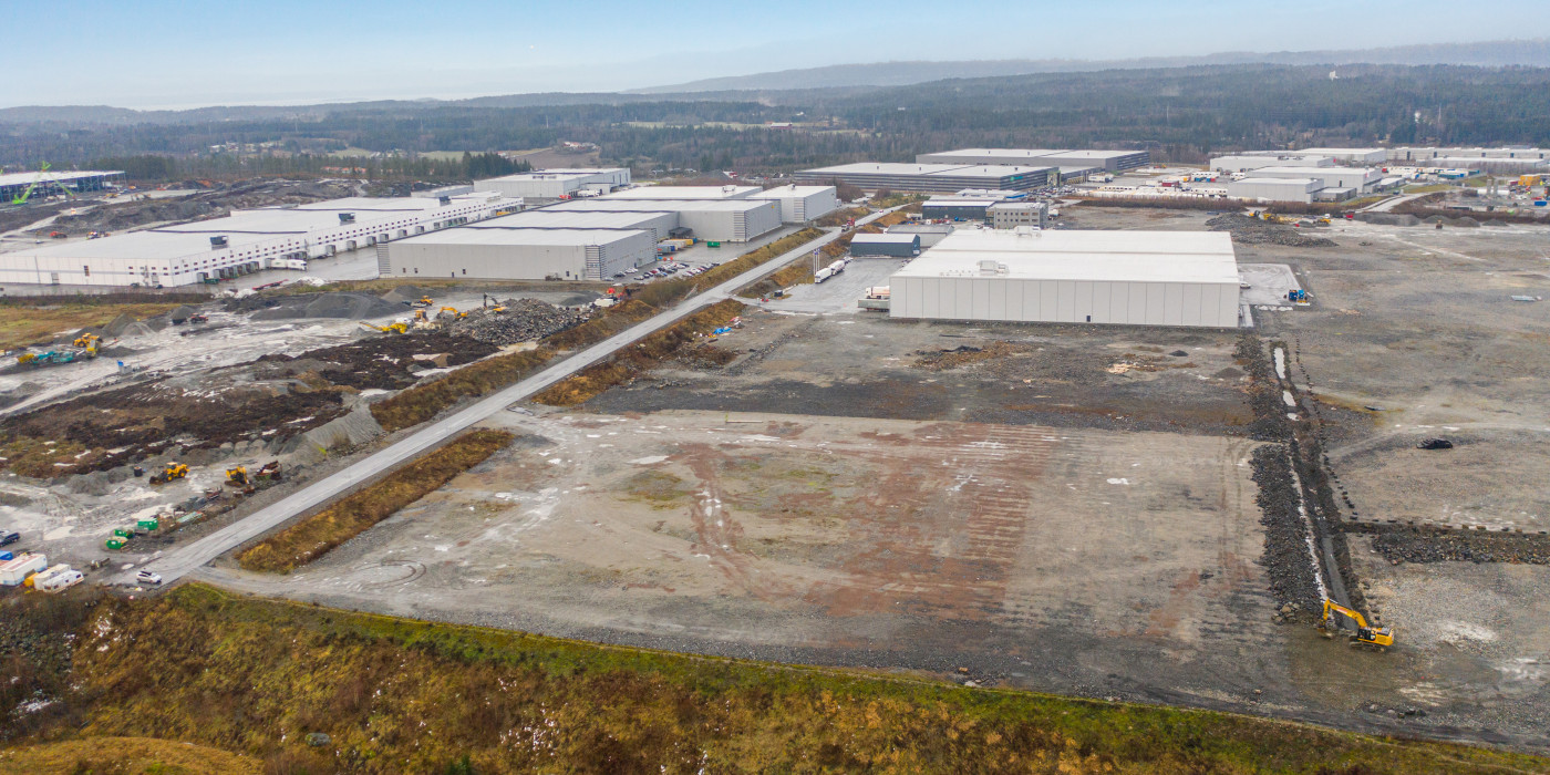 Logicenters acquires land in Vestby.