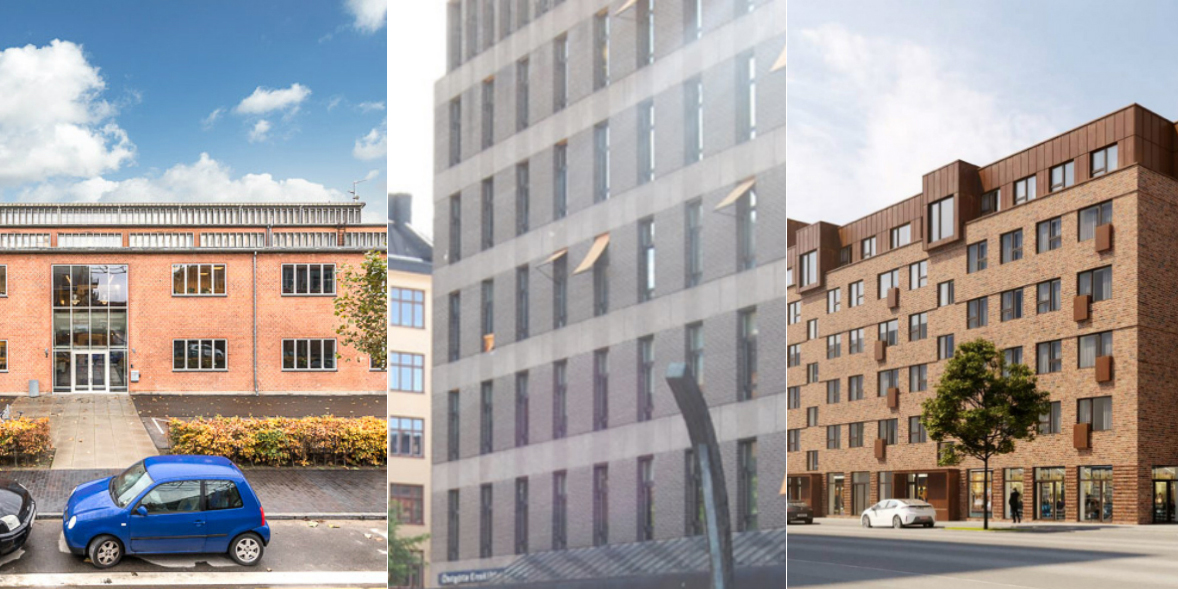 Three of the properties that are, or have been, owned by Europa Capital.