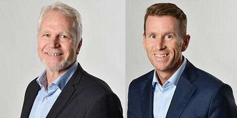 Magnus Björndahl and Marcus Hansson.