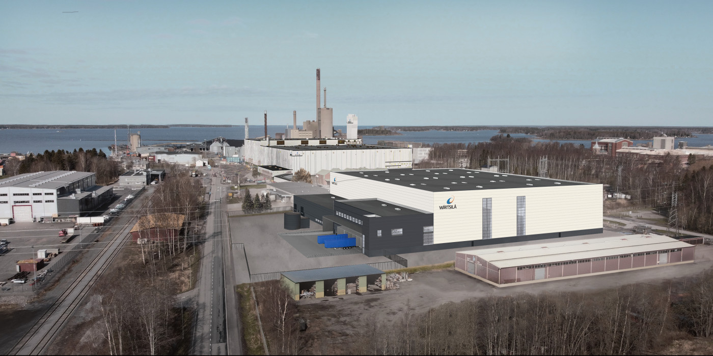 YIT builds logistics centre for Wärtsilä.