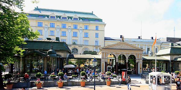 The restaurant is located in Helsinki CBD.