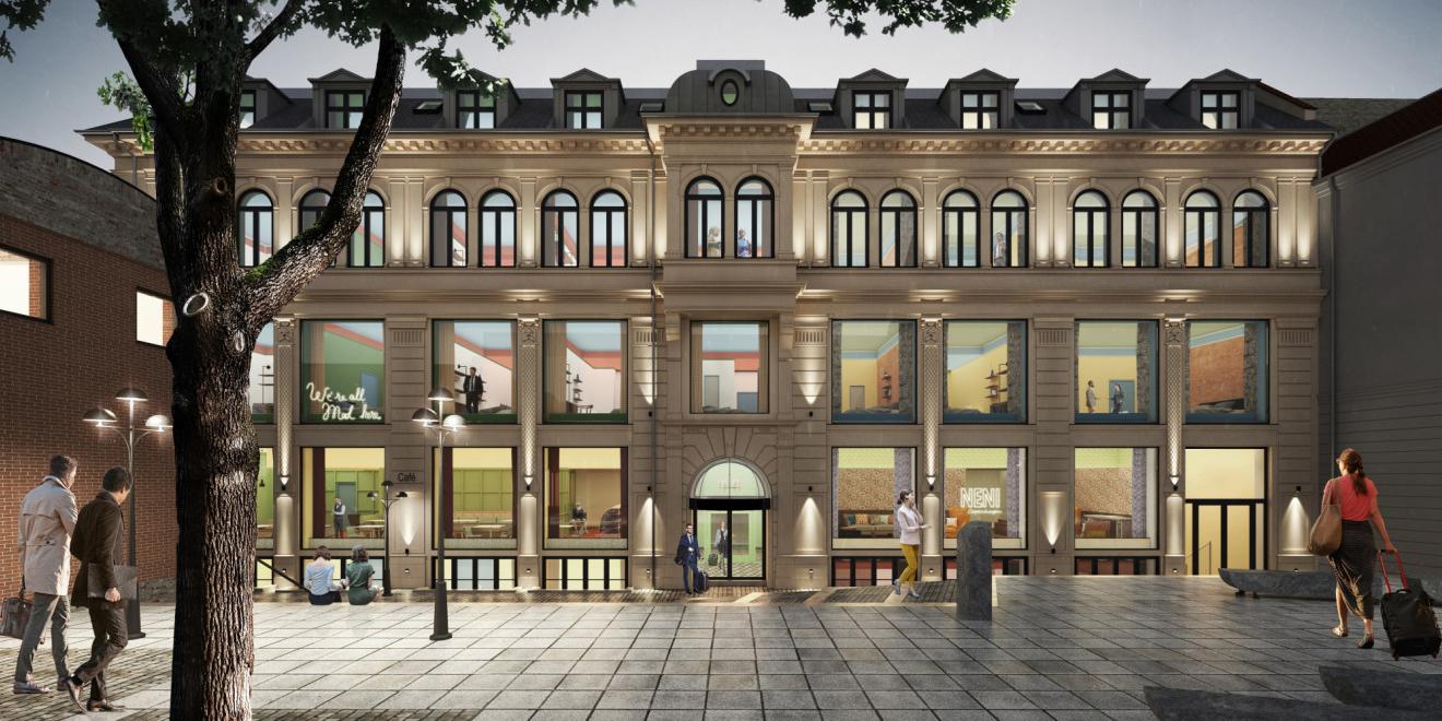 The Trinity Quarter in Copenhagen.