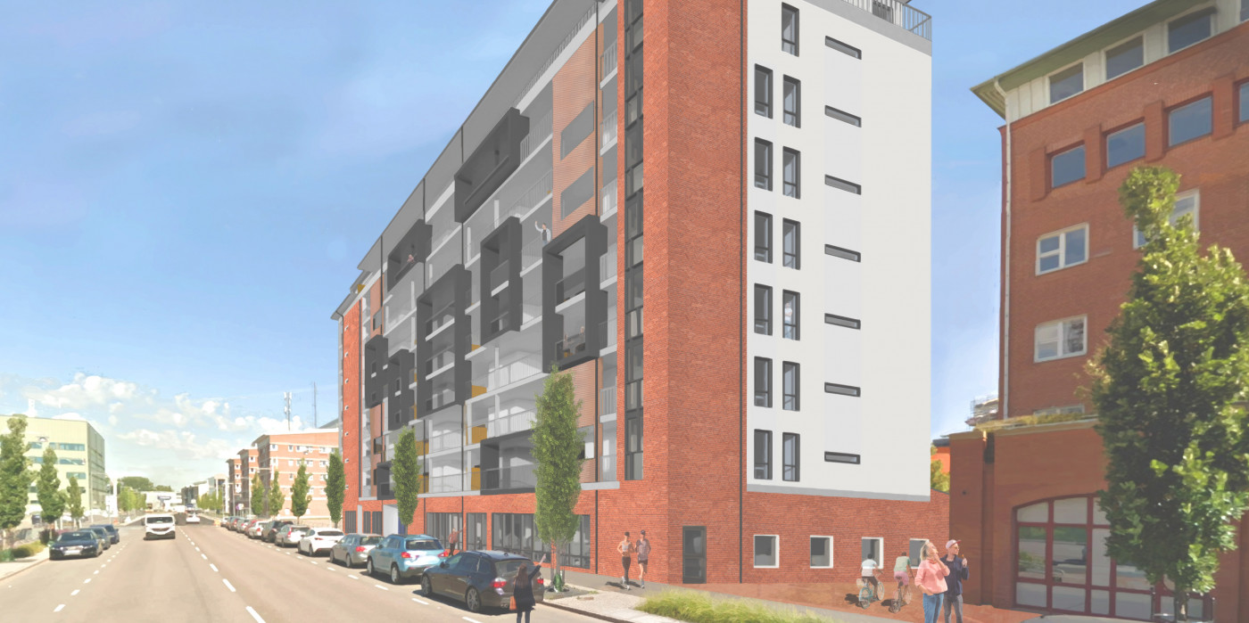 Peab builds apartments in Karlstad.