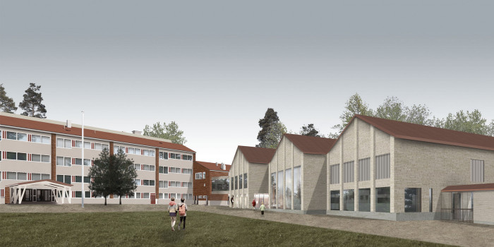 NCC to commence construction of schools and day-care center in Pakilanpuisto in Helsinki.