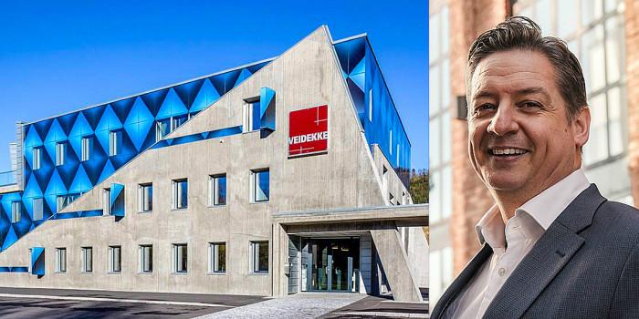 An Veidekke office and Bent Oustad, CEO of Norwegian Property.