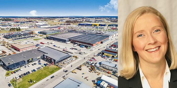 Boländerna in Uppsala and Julia Mejegård, Investments at Areim.