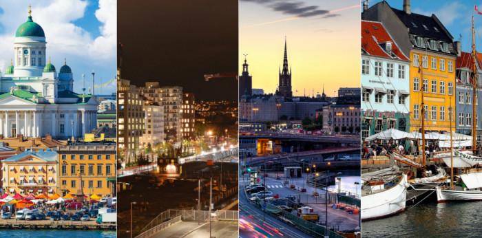 How has the development on the office markets in Helsinki, Oslo, Stockholm, and Copenhagen been the last five years?