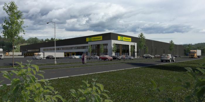 Veidekke to build for Felleskjøpet at Gardermoen.