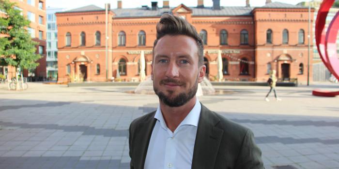 Jacob Karlsson, CEO of K-Fastigheter.