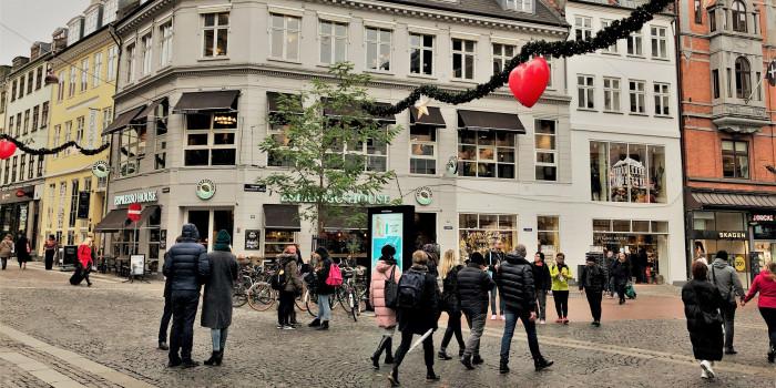 Strøget in Copenhagen.