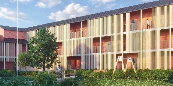 The apartments will be located in Espoo and Helsinki.