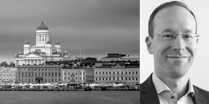Christoffer Sundberg, CEO of Cobbleyard Real Estate.