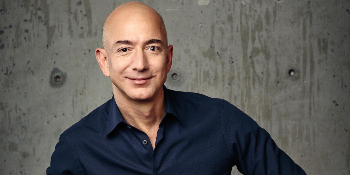 Jeff Bezos, founder of Amazon.