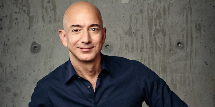 Jeff Bezos, founder of Amazon.