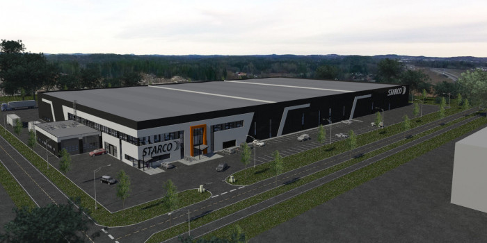 Veidekke to build for Starco at Gardermoen.