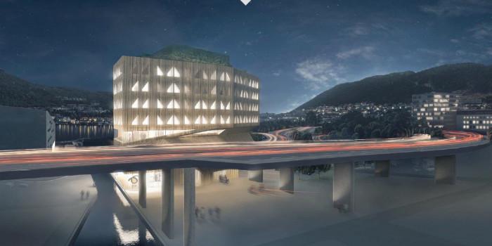 Veidekke to construct green buildings on behalf of BIR in Bergen.