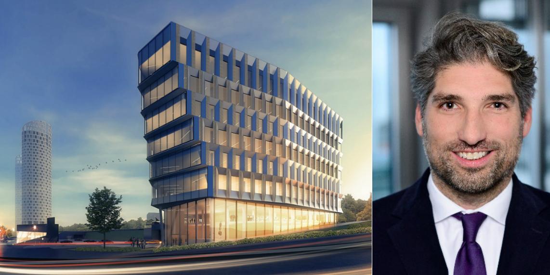 Keilaniemi Next andMatthias Brodesser, Head of Transaction Management International at Warburg-HIH Invest.
