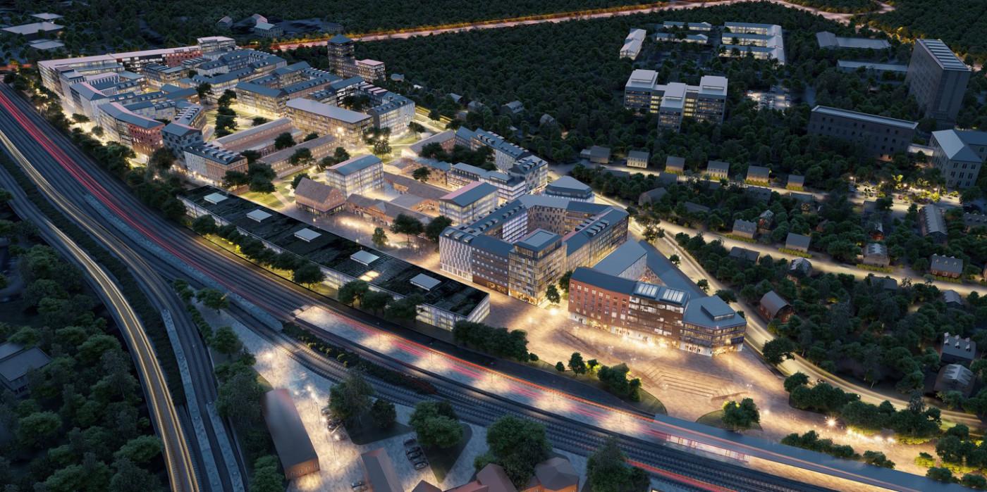 SBB develops new district in Nyköping.