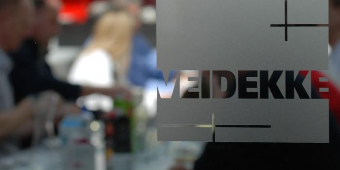 Veidekke to make changes in the management group.