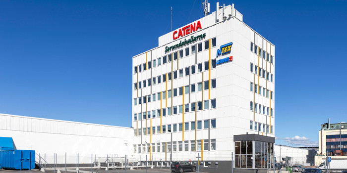 Online pharmacy MEDS will be moving into one of Catena's logistics properties at a strategic location in the Västberga industrial area in Stockholm.