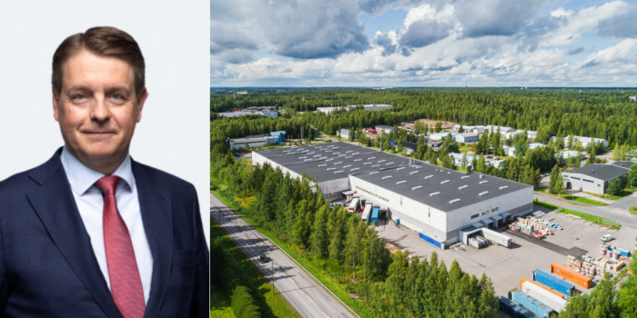 Timo Valtonen and the Hyvinkää property.
