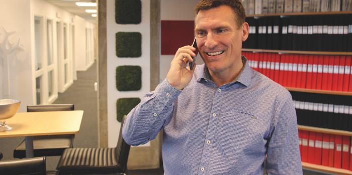 Benny Thögersen, CEO of Catena.