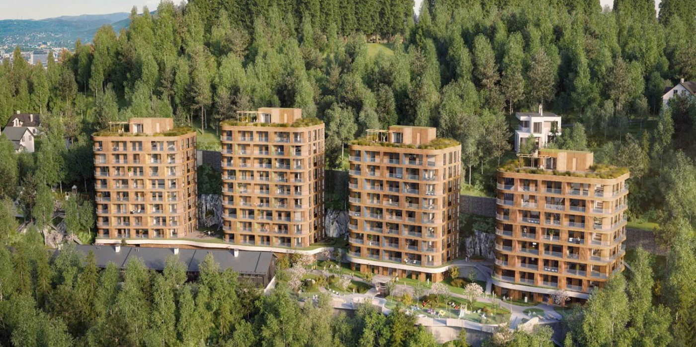 AF Gruppen acquires 50 percent of a housing project in Oslo.