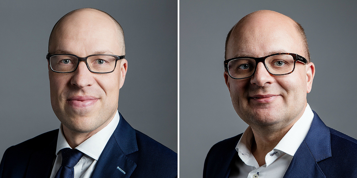 Mika Matikainen and Joakim Frimodig.