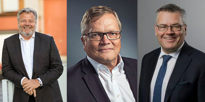 Thomas Erséus, Petri Olkinuora, and Kyrre Olaf Johansen. All former CEOs in the Nordic giants.