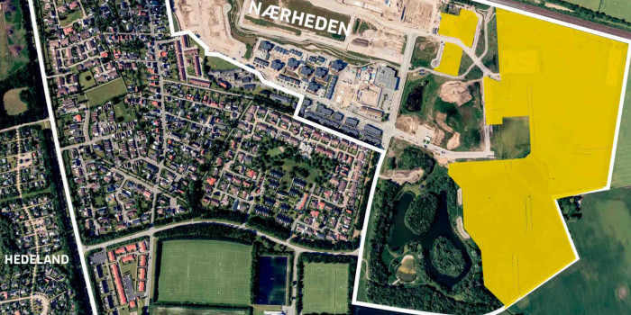 The yellow area will be the expanded.