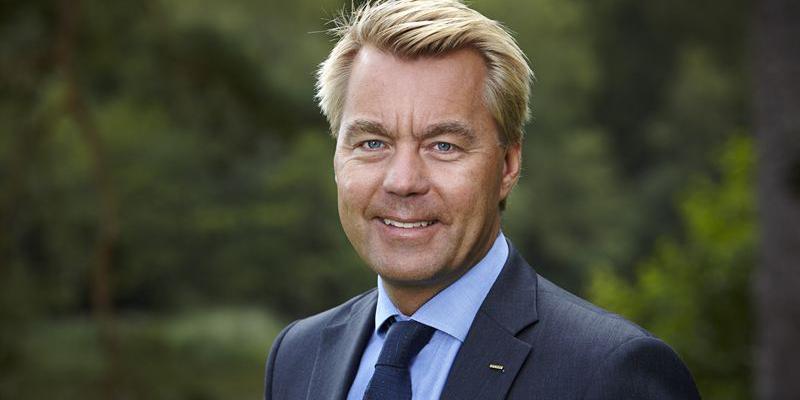 Jesper Göransson, CEO of Peab.