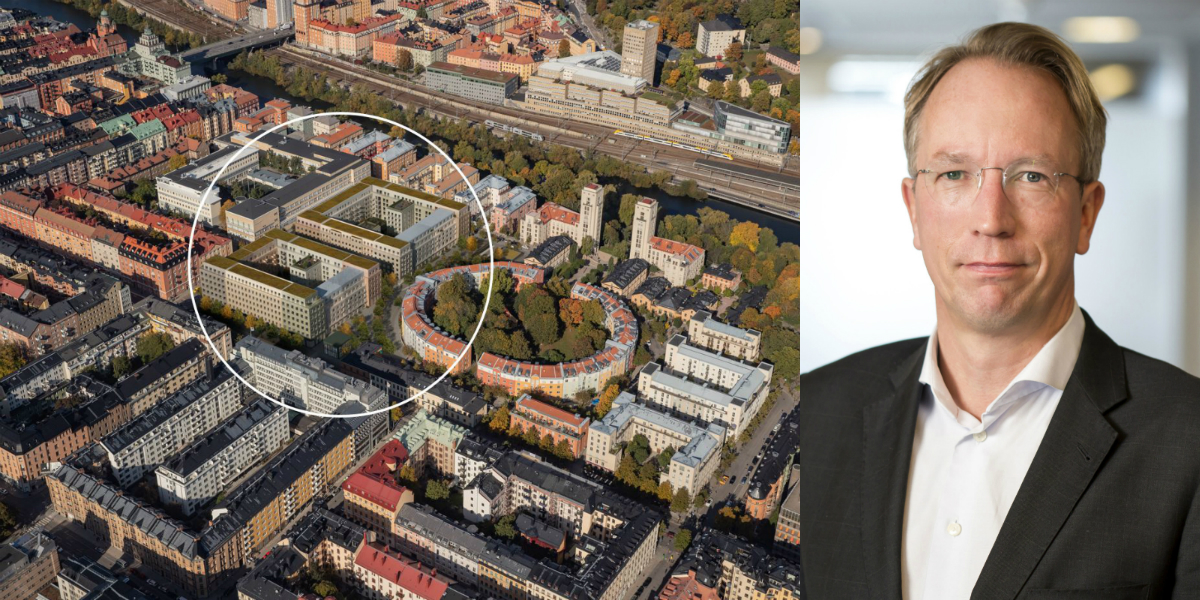 40,000 sqm building rights on Kungsholmen hits the market.