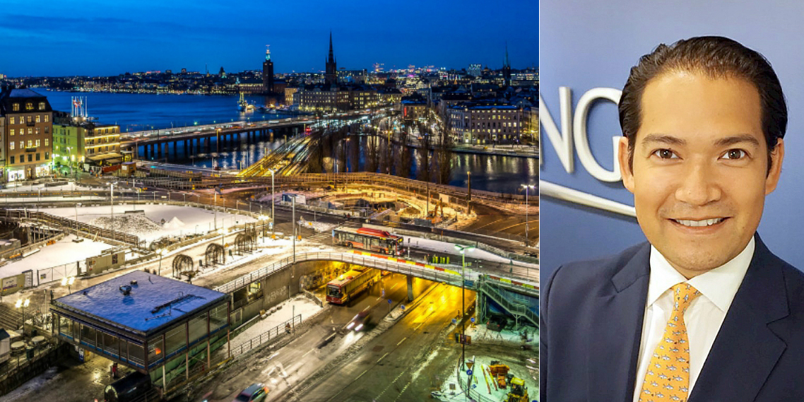 Thorsten Slytå's new position at Barings is now Head of Nordics.