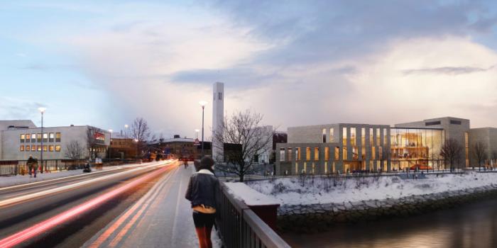 Veidekke will build a cultural centre.