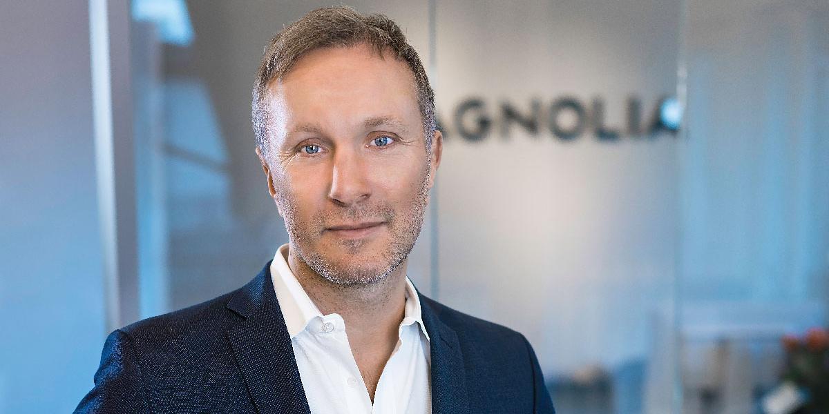 Fredrik Lidjan, CEO of Magnolia Bostad.