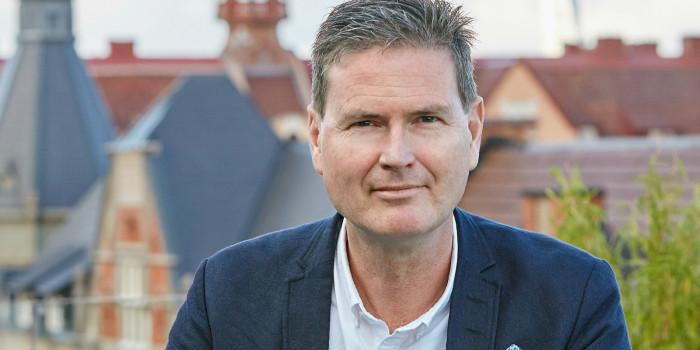 Patrik Hall, CEO of Heimstaden.