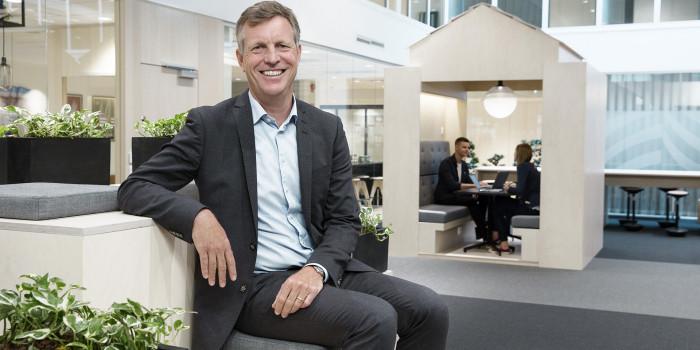 Castellum's CEO Henrik Saxborn.