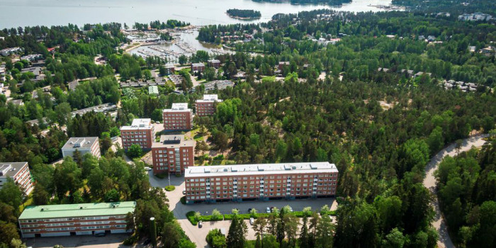 Morgan Stanley's latest Finnish acquisition. 151 residential units and building rights in Haukilahti, Espoo.