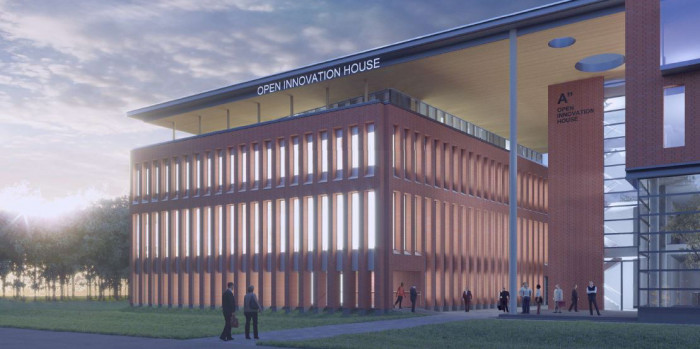SRV is starting up the construction of an extension to the Open Innovation House property in Otaniemi, Espoo.