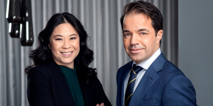 Jennifer Andersson and Rikard Henriksson, Managing Partners at Niam.