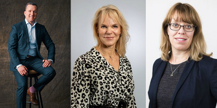 Johan Ejerhed, Liia Nou and Eva-Lotta Stridh are among the CFOs in the listed companies in the Nordics.
