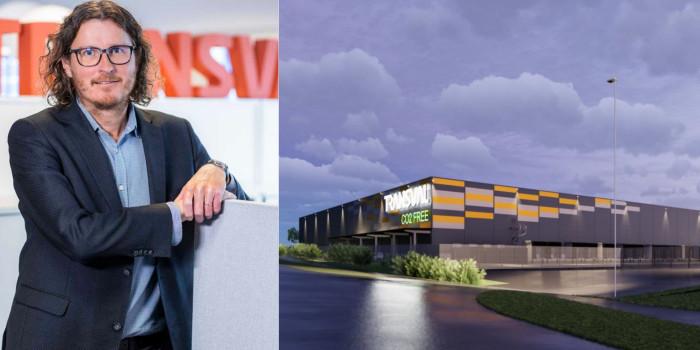 Transval's SVP Sakari Kiiskinen, and the logistics investment.