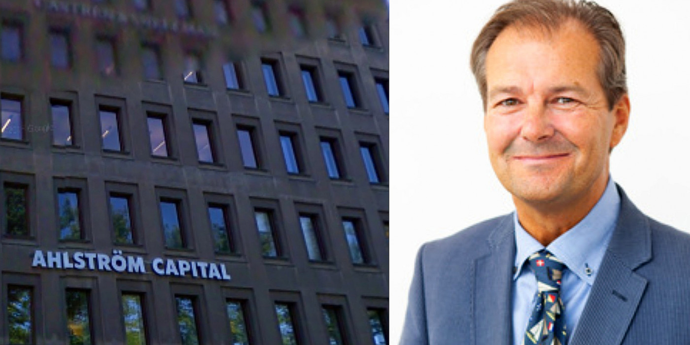 Ahlström Capital's HQ, and Peter Ahlström, CEO of A. Ahlström Real Estate.
