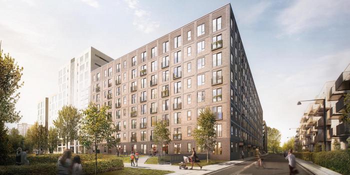 Skanska to build residential units in Copenhagen.