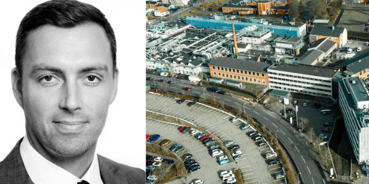 Henrik Køhn, Partner and Director of Investment and Asset Management at Thylander, and the divested assets to AEW.