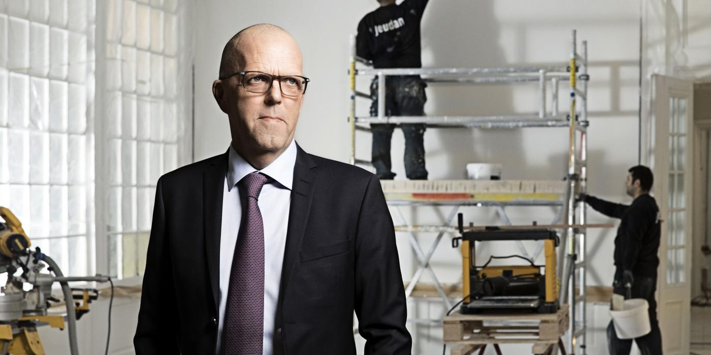 Per W. Hallgren, CEO of Jeudan.
