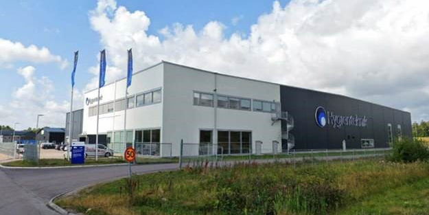 Stendörren will have Hygienteknik as a tenant.